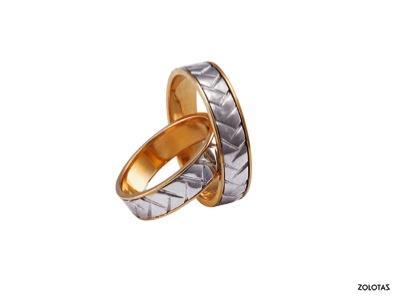 Βέρες γάμου A4018WY2 Βέρες γάμου A4018WY2 Βέρες σε Λευκό και Κίτρινο Χρυσό  18ΚΤ 6186f628263